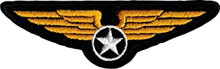 Military Wings Crest - Embroidered Iron On or Sew On Patch