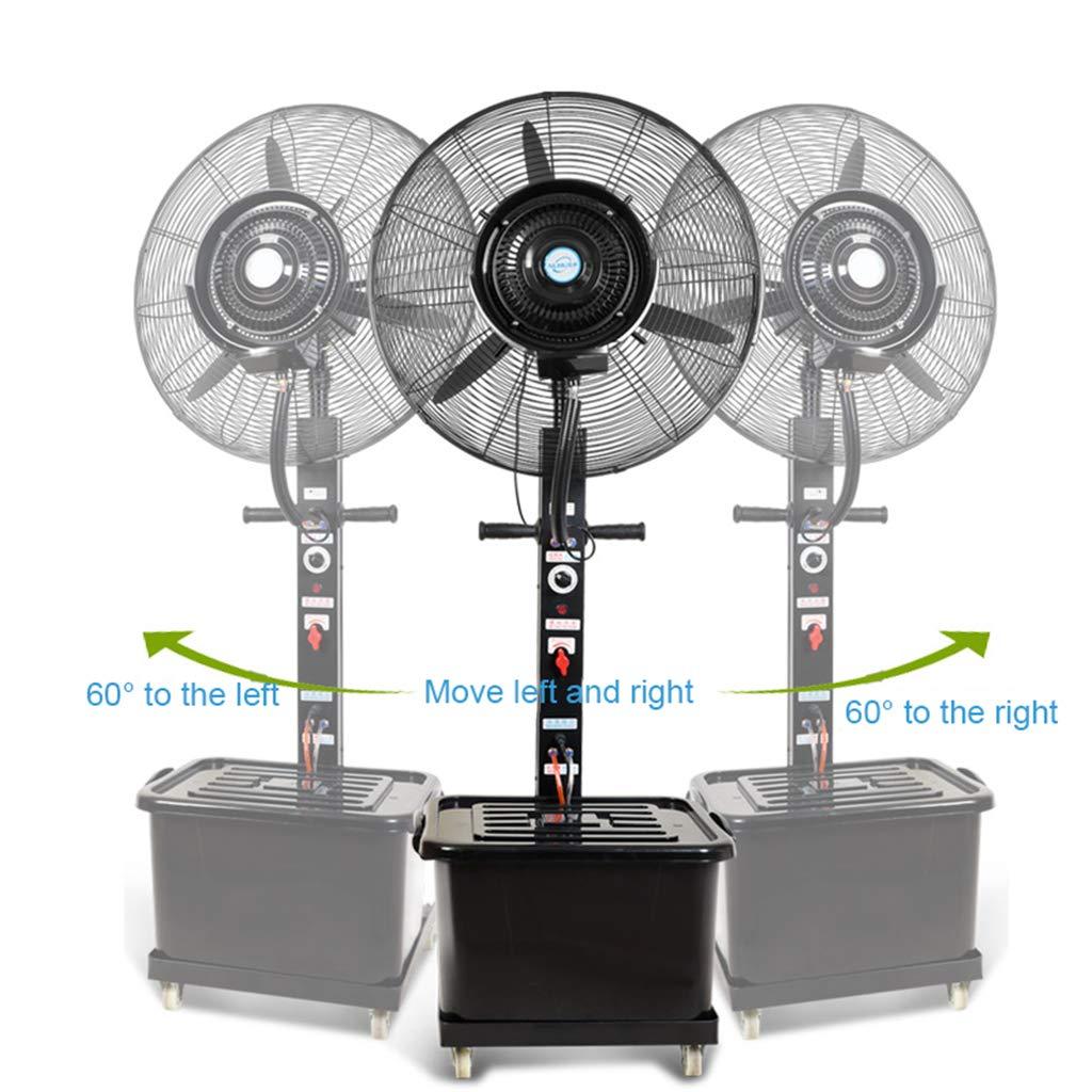 Ventilador de Pedestal de pie Ventilador nebulizador Exterior ...