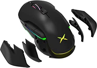 Rechargeable Wireless Gaming Mouse, EIRIX 16000 DPI Wired/2.4G Wireless Dual Mode Ergonomic RGB Gaming Mice,Adjustable Pro...