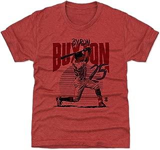 500 LEVEL Byron Buxton Minnesota Baseball Kids Shirt - Byron Buxton Rise