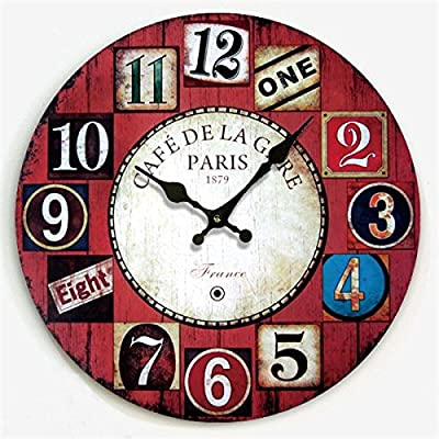Y-Hui Wall Clock Clocks Rocking Mute Wall Clock Home Very Atmospheric 鈡 Table Bed