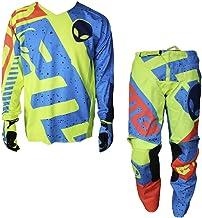 Motocross Quad Off Road Trials Enduro Kart ATV MTB MX Dirt Bike Pit Sport niños Kit de Camisa de pantalón C-M