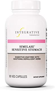 Integrative Therapeutics - Similase Sensitive Stomach - Physician Developed Digestive Enzymes with Soothing Herbs - Sensit...