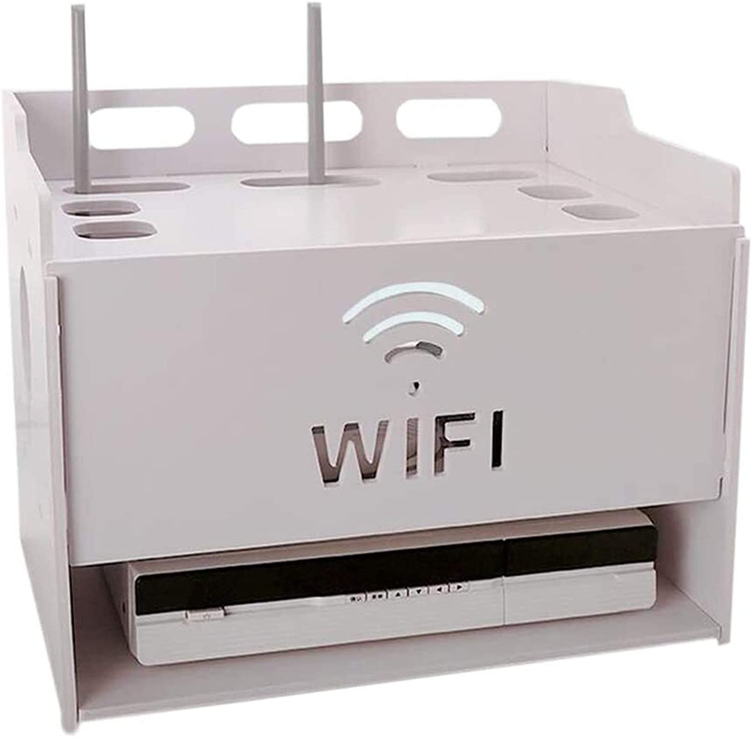 GJJSZ Router Rack Set Mesa Mall Top Box Thickened Ranking TOP11 Wireless WiFi Shelf and