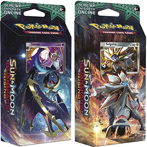 Pokemon TCG: Sun & Moon Guardians Rising, Bundle Of Two 60-Card Theme...