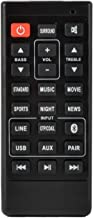 Replacement Remote for Sanyo FWSB405FS FWSB405F FWSB426F FWSB415E A NC302UH NC300UH NC306UH FWSB426FA Sound Bar Remote Control - Black Subwoofer Speaker Home Audio System Accessories