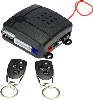 KKmoon Car Vehicle Security System Universal Burglar Alarm Protection Anti-Theft System with 2 Remote Contoller photo