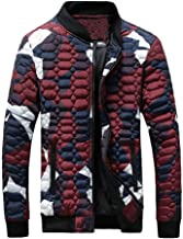 Clearance Forthery Men's Coat Camouflage Winter Warm Thick Zipper Jacket Newest