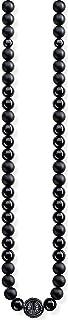 Thomas Sabo Femmes-Chaîne Power Necklace Noir Glam & Soul Argent Sterling 925 KE1674-704-11-L100