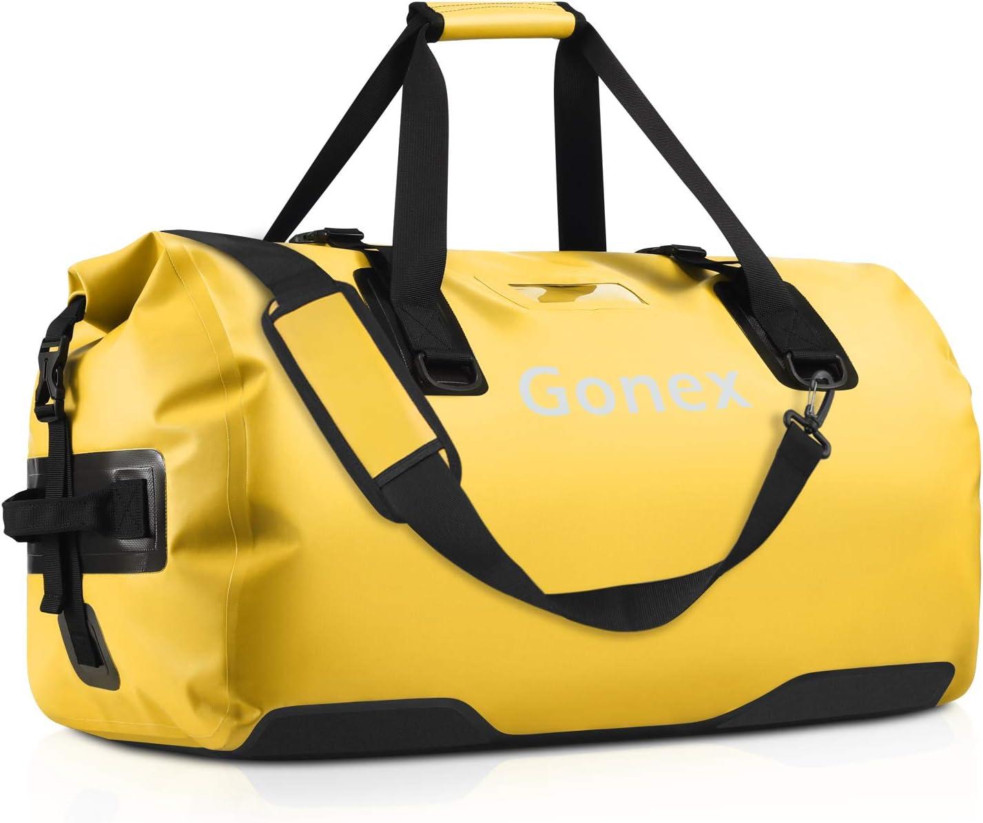 Gonex 40L 60L 80L Extra Large 直営ストア Duffe 激安超特価 Travel Duffle Waterproof Dry