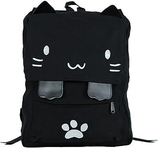 WIHVE Gym Duffel Bag Cute Lucky Cat Sports Lightweight Canvas Travel Luggage Bag