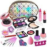 Washable Kids Makeup Girls Toys - Real Kids Makeup Kit for Girl Safe Cosmetic...