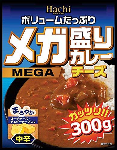 ハチ食品 メガ盛りカレー チーズ300g×20個