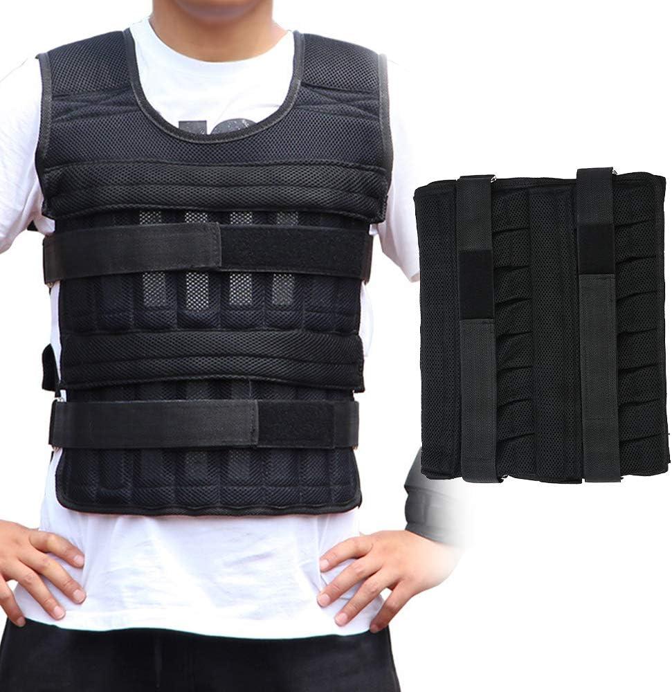 A Gewichtsweste N Gewicht Warnwesten f/ür Gewicht Training Krafttraining /Übung 3kg//15kg//35kg Verstellbar Krafttraining Weight Vest