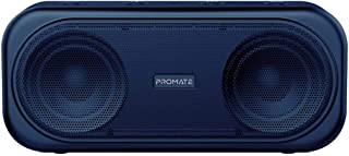 Promate 6959144046259 Powerful 10W True Wireless Bluetooth V5.0 Stereo Speaker with Built-In Mic, Otic Blue