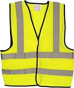 High Visibility Vest for safety and emergencies Yellow
