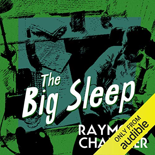 The Big Sleep audiobook cover art