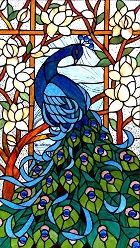 Taloyer DIY Peacock 5D Diamond Rhinestone Painting Cross Stitch Kit Mosaic Home Decor Crafts