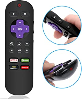 New LC-RCRCA-17 IR Remote Control fit for Sharp Roku LED TV LC-32LB481C LC-32LB591U LC-43LB481C LC-55LB481C LC-55LB481U with Netflix Spotify CINEPLEX Shortcut App Key