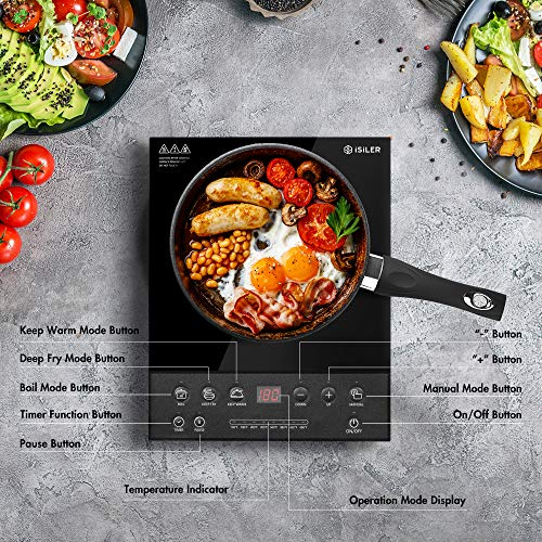 iSiLER Electric Induction Cooktop