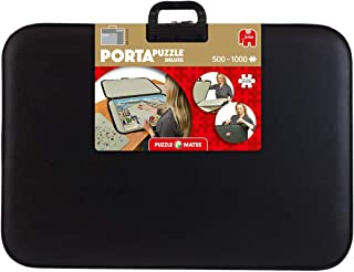 Jumbo, Puzzle Mates, Portapuzzle - Deluxe 1,000 piece, Jigsaw Puzzle Accessories