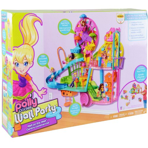 Mattel Y7126 - Polly Pocket Il Centro Commerciale Wall Party