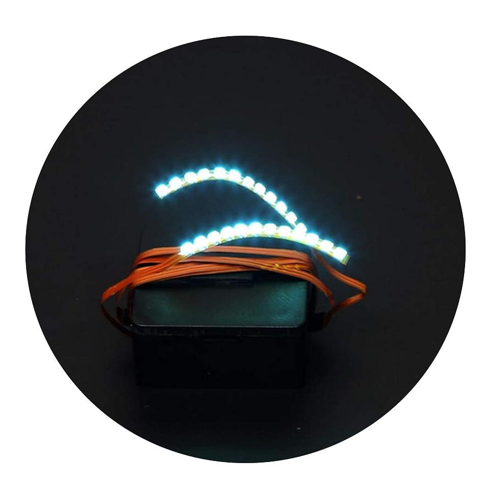 Sound Control LED Eyelashes Eyelid False Eyelashes For Fashion Icon Saloon Pub Club Bar Party With 1 X Iron Hairpin 4 Colors,Blue