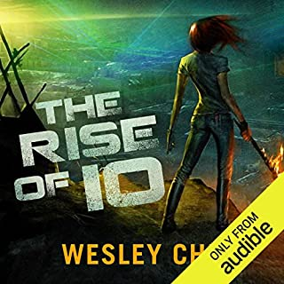The Rise of Io audiobook cover art