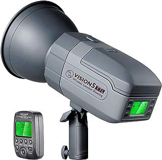 Neewer Vision5 400W TTL para Nikon HSS Estudio Estroboscópico al Aire Libre con Sistema 24G y Disparador Inalámbrico 2 Batería de Litio Ingeniería Alemana 18 kg Montaje Bowens