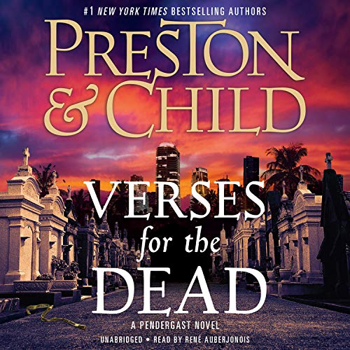 Verses for the Dead Audiobook By Douglas Preston, Lincoln Child cover art