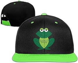Frog Cartoon Lonely Kids Adjustable Hip Hop Snapback Baseball Hat