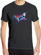 Men's Awesome Cool The Script Superheroes Sport Dri-fit Tshirt