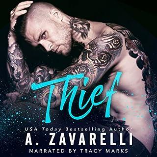 Thief audiobook cover art