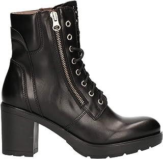e89ee13f Nero Giardini A807065D - Botas de Cuero para Mujer Negro Negro