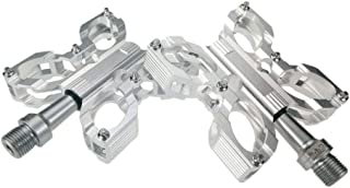 Components & Parts ZKxl8ca 1 Pair Mountain MTB Bike Bicycle Pedals Aluminum Alloy Cycling Anti-Slip Wide