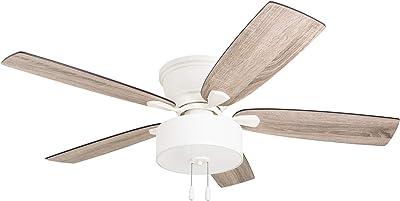 Prominence Home 51168-01 Laurelton Ceiling Fan, 52, White