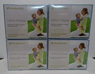 Pack of Four: Pharmanex LifePak Prenatal 60 Packets x4