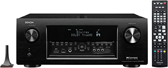 Denon AVR-X4000 7.2-Channel 4K Ultra HD Networking Home Theater AV Receiver with AirPlay (Discontinued by Manufacturer) (Renewed)