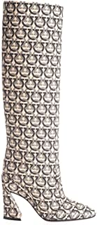 SALVATORE FERRAGAMO Luxury Fashion Womens 01Q528 Beige Boots | Fall Winter 19