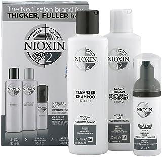Nioxin Kit Sistema 2 Revitalizador de Cabello (Cabello Natural Pérdida De Densidad Avanzada)