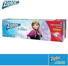 Ziploc Disney Frozen Slider con 11 Bolsas Cada Una, Pquete de 1