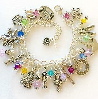 Nutcracker Charm Bracelet, Christmas Bracelet, Nutcracker Suite Ballet Bracelet, Holiday Charm Bracelet, Ballet Jewelry, Nutcracker Ballet Jewelry