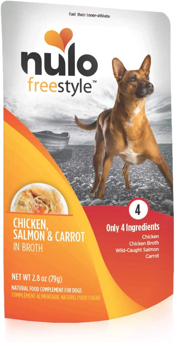 Nulo Freestyle Natural Dog Ranking TOP5 Food Topper 6 24 oz or 2.8 Year-end annual account Pouches