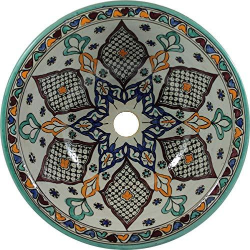 Kama - Marokkaans keramische wastafel