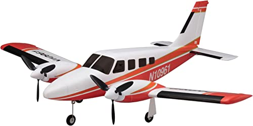 10961R - KYOSHO BK EP aiRium Piper PA34 VE29 Twin, rot