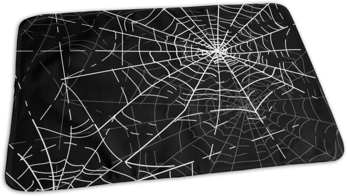 UAJAR Halloween Spiders Web Max 65% OFF Baby Por Pad Reusable Cover Changing Max 87% OFF