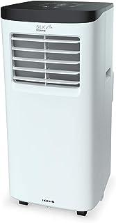 IKOHS SILKAIR Home - Aire Acondicionado Portátil, 7000BTU, 1800 Frigorías, con 3 Modos de Aire Acondicionado, Ventilador, y Deshumidificador hasta 17 L/día, Muy Silencioso, Incluye Mando