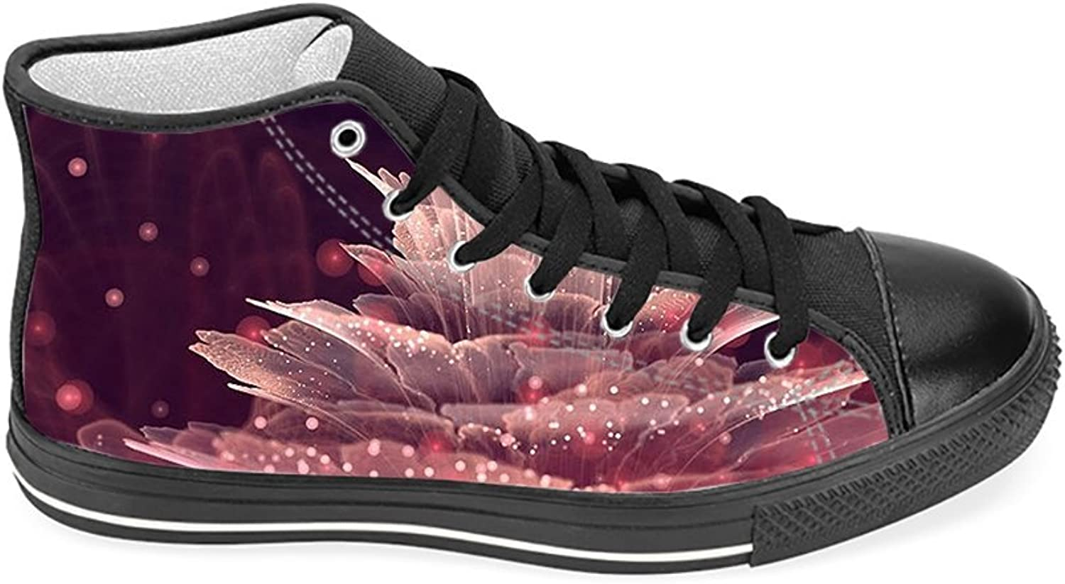 High Top Canvas shoes for Women, Floral High Top Classic Sneakers Men, Printed shoes for Men