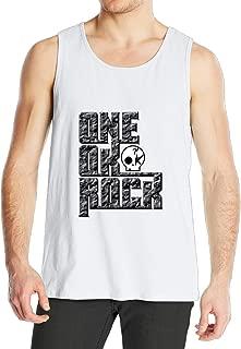 SAXON Custom Sleeveless Shirt For Men One Ok Rock Logo White