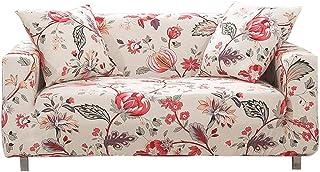 comprar comparacion HOTNIU Funda Sofa 3 Plazas (175-220 cm) Elastica, Cubre/Protector Sofá Ajustables Estampado, Fundas Decorativas para Sofas...